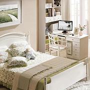 韩式田园风格卧室床头柜装饰