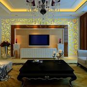 欧式风格客厅石膏线装饰