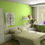 现代简约风格房间背景墙装饰