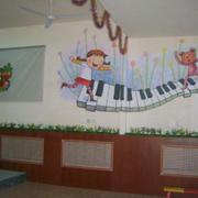 幼儿园简约漫画壁纸设计