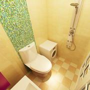 韩式清新风格卫生间瓷砖装饰