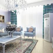 地中海简约风格室内客厅灯饰装饰