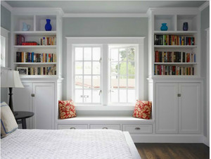 三室一厅美式飘窗装修效果图