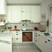 北欧风格简约厨房橱柜装饰