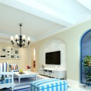 清新系列客厅设计图片