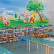 时尚幼儿园背景墙设计