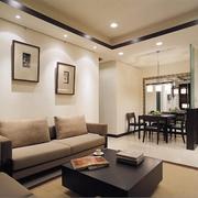 后现代风格简约小房间客厅装饰