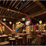 东南亚风格原木吧台装饰
