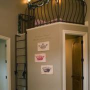 美式简约风格阁楼卧室装饰