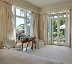 欧式风格卧室整体窗户装饰