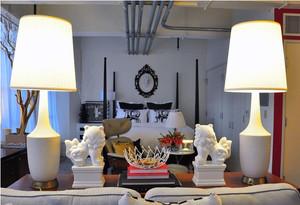 别墅客厅欧式混搭风格灯饰装饰
