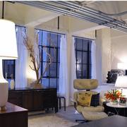 别墅欧式客厅吊顶装饰