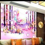 韩式清新客厅沙发背景墙装饰