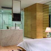 现代卧室整体图