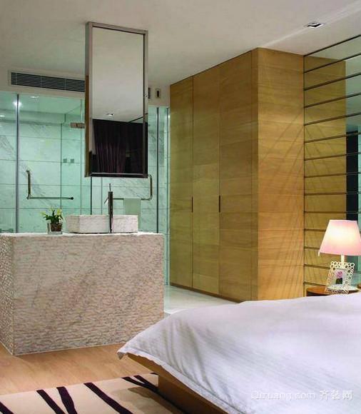 时尚靓丽的现代卧室装修效果图