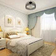 卧室简约田园风格卧室装饰