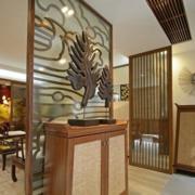中式风格客厅鞋柜装饰