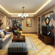 客厅茶几设计图片