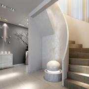 后现代风格复式楼简约风格楼梯装饰