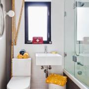 都市风格简约厕所设计