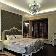 法式卧室软包背景墙装饰