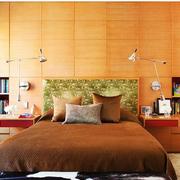 100平米房屋简约风格卧室床头背景墙