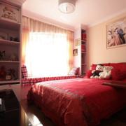 卧室简约风格置物架装饰