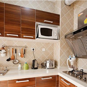 法式简约风格厨房装饰效果图