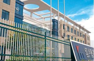 大型简约风格学校围墙装饰
