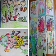精致的幼儿园壁画效果图