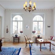 北欧风格客厅沙发背景墙装饰