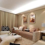公寓简约风格客厅飘窗装饰