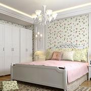 韩式田园风格卧室壁纸装饰
