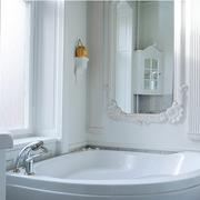 北欧风格公寓白色系卫浴装饰