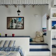 地中海风格卧室榻榻米装饰