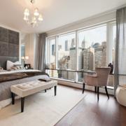北欧风格清新卧室窗户装饰