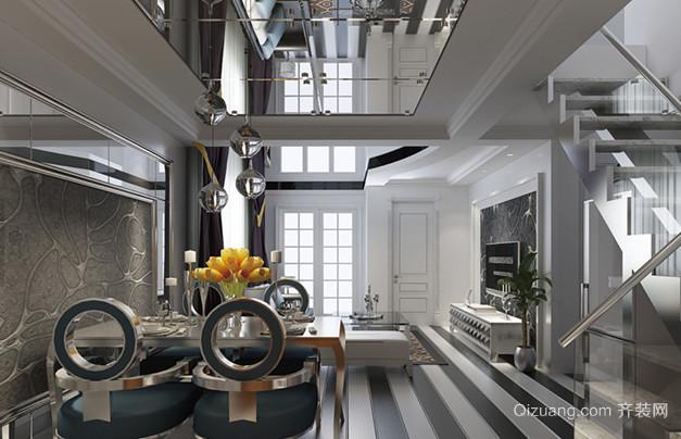 现代简约风格的室内楼梯设计装修效果图欣赏