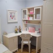 欧式简约风格儿童房书柜装饰