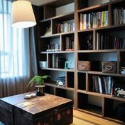 日式风格阁楼书房装饰