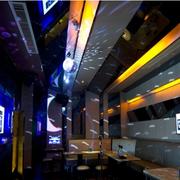 后现代风格酒吧创意吊顶装饰