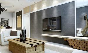 120平米北欧客厅电视背景墙效果图