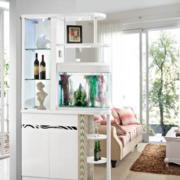 现代简约风格白色系玄关装饰