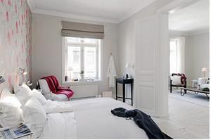 北欧风格公寓清新卧室装修