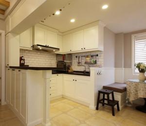 小户型10平米开放式厨房装修效果图