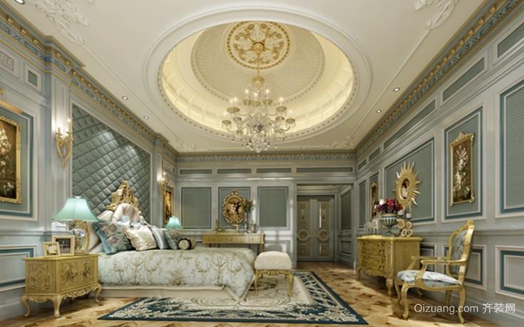 端庄大方的法式卧室壁纸装修效果图鉴赏