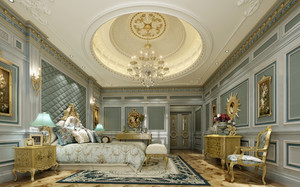 法式卧室气势吊顶装饰