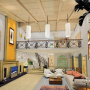 美式简约风格洋房客厅装饰