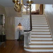 简约风格室内楼梯装饰