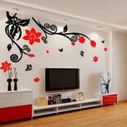 简约风格跃层客厅墙贴装饰