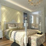 法式房间简约风格壁纸装饰